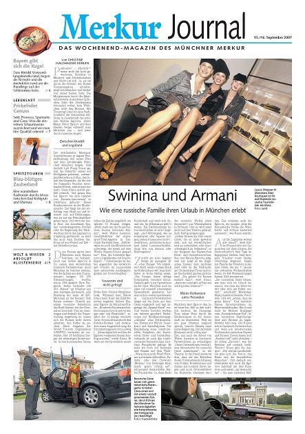 Pressebericht - Zeitungartikel